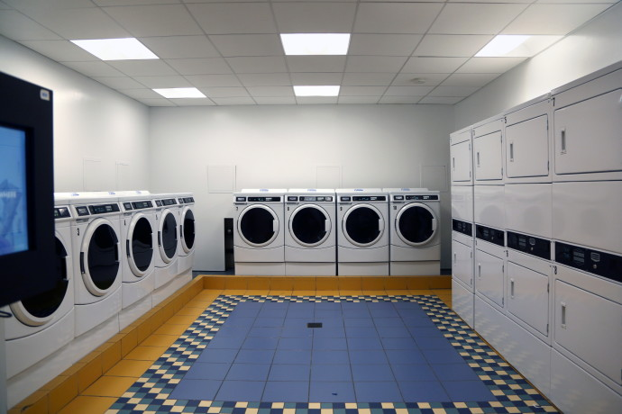 Claridge's Laundry Room