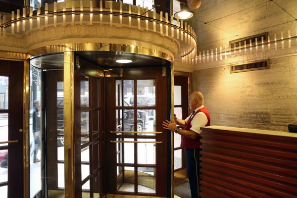 Claridge's Lobby Door